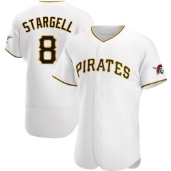 Willie Stargell Pittsburgh Pirates Men's Authentic Home Jersey - White